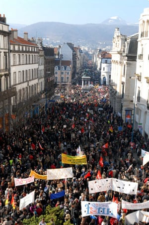 Gallery Credit-crunch protests: Credit-crunch protests around Europe
