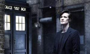 Matt Smith who will play Doctor Who