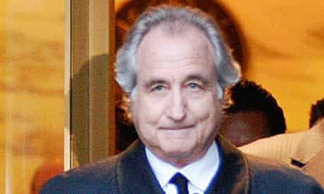Bernard Madoff leaves U.S. District Court