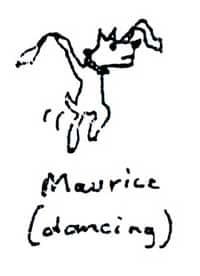 Maurice dancing