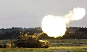 Israeli artillery fires into northern Gaza strip