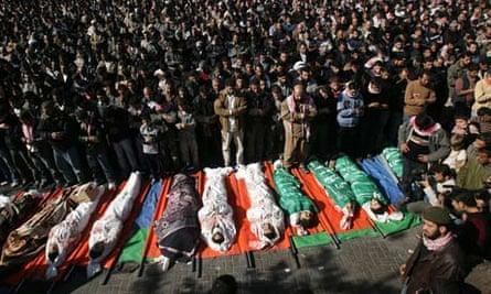 Gaza's day of mourning