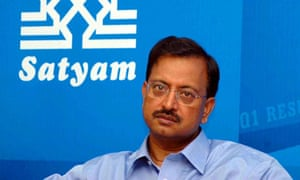A file photograph of B Ramalinga Raju who resigned as Satyam Computer Services' chairman.