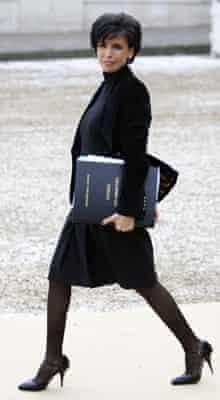 France's justice minister Rachida Dati