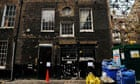 A house in Mayfair, London that has been taken over by a group of serial squatters