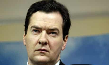 George Osborne speaking at Policy Exchange in London on January 9 2009. Photograph: Tim Ireland/PA
