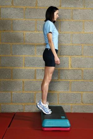 Gallery Strength training: Jo Pavey: calf raises