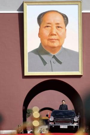 china anniversary : Chinese President Hu  at china anniversary