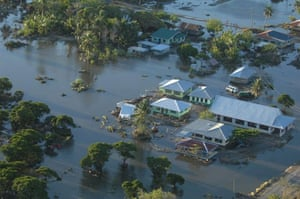 Samoa: Areas of devastation in Samoa