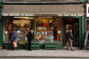 Top secondhand bookshops: Top 10 secondhand bookshops: Any Amount of Books Charing Cross Road, London