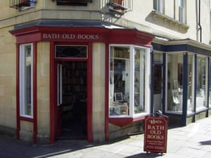 Top secondhand bookshops: Top 10 secondhand bookshops: Bath Old Books, Bath in Somerset
