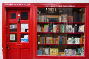 Top secondhand bookshops: Top 10 secondhand bookshops: The Haunted bookshop in Cambridge