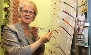 d4e7c560869 Mary Perkins s aim of affordable glasses has made Specsavers ...