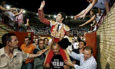 Spanish torero Jose Tomas, Cordoba, Spain, 26 May 2009