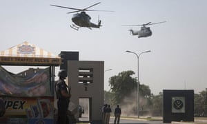 Military helicopters in Rawalpindi
