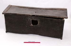 Mary Rose : A Tudor chest found aboard the Mary Rose wreckage
