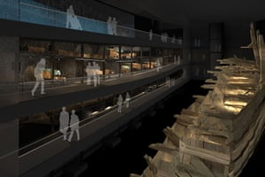 Mary Rose : The proposed new Mary Rose Museum