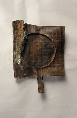 mary rose: The remains of a mirror found on the mary rose