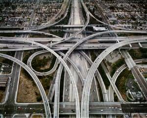 Edward Burtynsky Oil: Highway #1, Los Angeles, California, USA, 2003