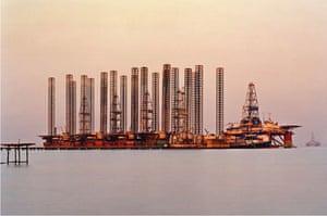 Edward Burtynsky Oil: SOCAR Oil Fields #6, Baku, Azerbaijan, 2006