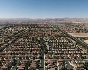 Edward Burtynsky Oil: Surburbs #1, North Las Vegas, Nevada 2007