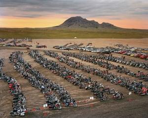 Edward Burtynsky Oil: Kiss Concert Parking Area, Sturgis, South Dakota 2008