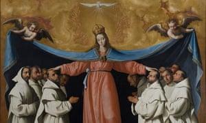 Francisco de Zurbaran's Virgin of the Misericordia, 1634