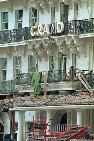 Brighton bombing 1984: Exterior of the Grand Hotel