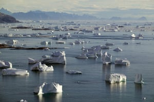 Earth Alert: Glacial landscape on the South East coast of Greenland