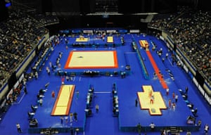 World Gymnastics : The mens' qualifying competition gets underway