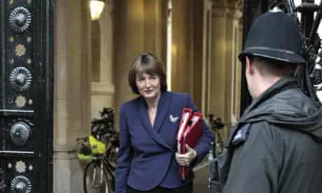 Harriet Harman at Downing Street