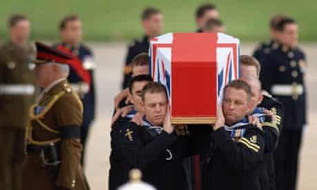Repatriation of soldiers In Iraq
