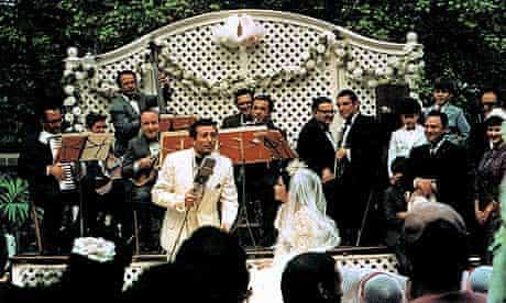 Al Martino as Johhny Fontane in The Godfather, in 1972.