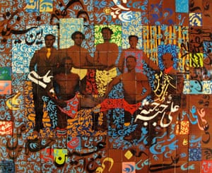 GOLDEN GATES: GOLDEN GATES: Contemporary Art from the Middle East