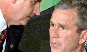 Bush hears 9/11 news