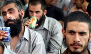 Released Afghan prisoners in 2005