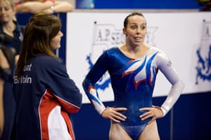 Gymnastics day 2: Beth Tweddle is close to tears after a bad performance on the uneven bars