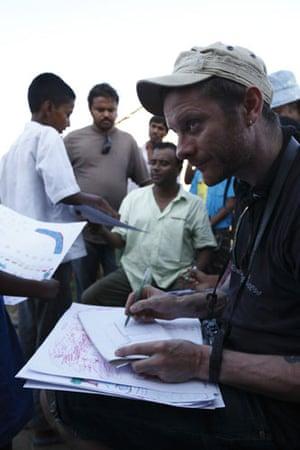 Jamie Hewlett: Visit River Island of Bangladesh with Oxfam