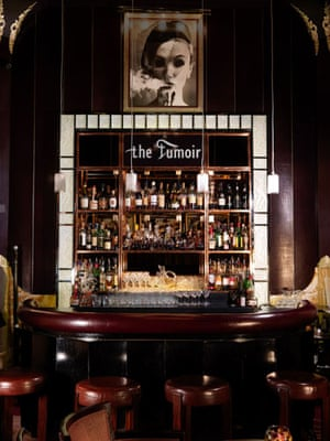 Art Deco Gallery: Claridge's Fumoir – or smoking room - is Art Deco at its most seductive