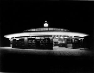 Art Deco Gallery: Charles Holden designed Southgate Underground station