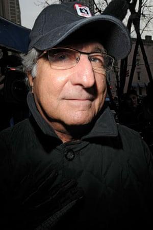 10 years: Bernard L Madoff