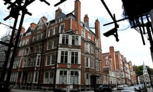 Empty property in Mayfair, London. There are 3,000 empty properties in Westminster, London