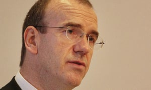 Sir Terry Leahy speaking at the Royal Society