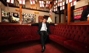 BNP leader Nick Griffin after his election as an MEP