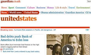 Go to the United States front at guardian.co.uk for our American coverage