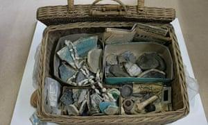 Agatha Christie picnic basket