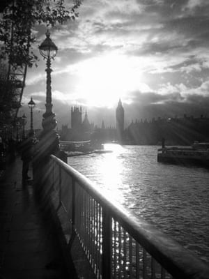 Landscape photograph: Storm clears over Westminster Palace, London