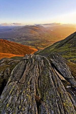 Landscape photograph: Summit ridge of Blencathra