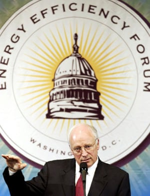 Environment decade: US Vice President Dick Cheney talks about the Bush decision about Kyoto