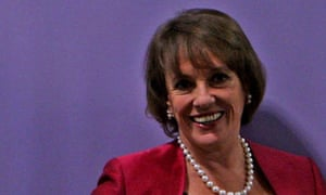 Esther Rantzen launching her campaign to become MP for Luton South in Luton on 19 October 2009.